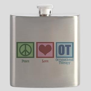 Peace Love OT Flask