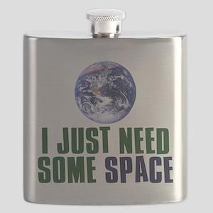 Astronaut Humor Flask