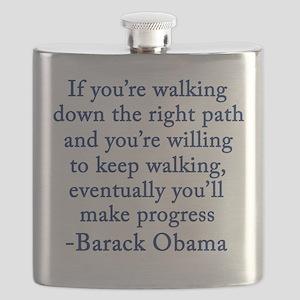 Progressive Obama Flask
