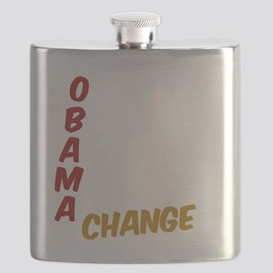 Obama For Change Flask