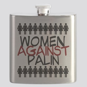 Women Against Palin Flask