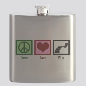 Peace Love Film Flask