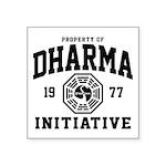 Dharma Initiative Square Sticker 3