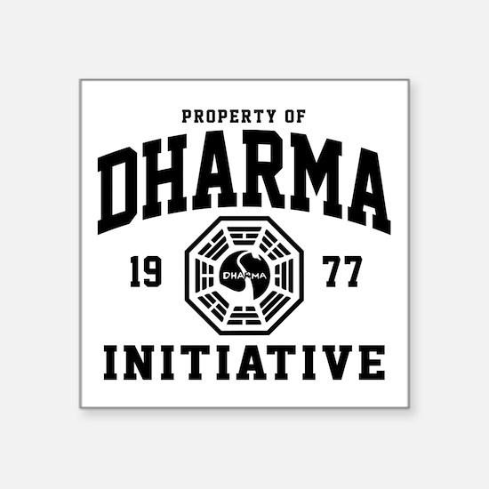 "Dharma Initiative Square Sticker 3"" x 3"""