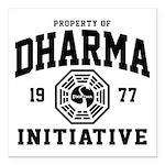 Dharma Initiative Square Car Magnet 3