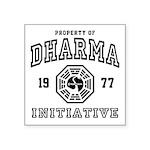Shower Dharma Ini Square Sticker 3