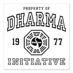 Shower Dharma Ini Square Car Magnet 3