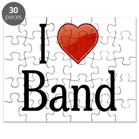 I Love Band Puzzle