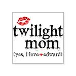Twilight Mom Square Sticker 3