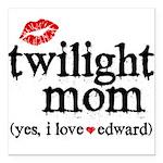 Twilight Mom Square Car Magnet 3