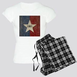 Vintage San Antonio Flag Women's Light Pajamas