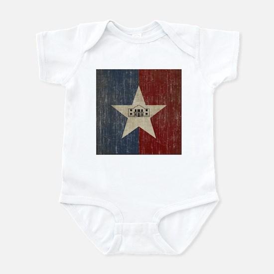 Vintage San Antonio Flag Infant Bodysuit