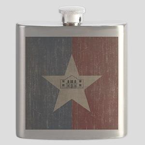 Vintage San Antonio Flag Flask