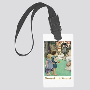 Hansel and Gretel Large Luggage Tag