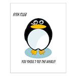 FISH CLUB Small Poster