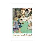 Hansel and Gretel Sticker (Rectangle)