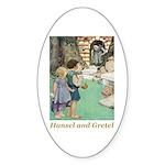 Hansel and Gretel Sticker (Oval 50 pk)