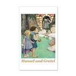 Hansel and Gretel 35x21 Wall Decal