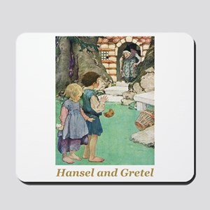 Hansel and Gretel Mousepad