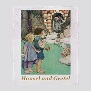 Hansel and Gretel Throw Blanket