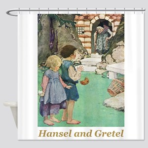 Hansel and Gretel Shower Curtain