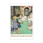 Hansel and Gretel Mini Poster Print