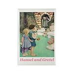 Hansel and Gretel Rectangle Magnet