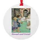 Hansel and Gretel Round Ornament