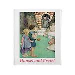 Hansel and Gretel Throw Blanket