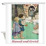 Hansel and Gretel Shower Curtain