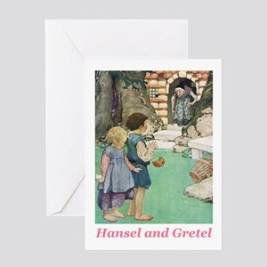Hansel and Gretel Greeting Card