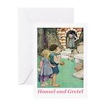 Hansel and Gretel Greeting Card