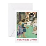 Hansel and Gretel Greeting Cards (Pk of 10)