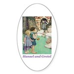 Hansel and Gretel Sticker (Oval)