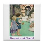 Hansel and Gretel Tile Coaster