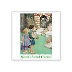 Hansel and Gretel Square Sticker 3