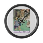 Hansel and Gretel Large Wall Clock