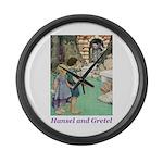 Hansel and Gretel Large Wall Clock