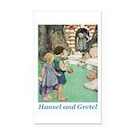 Hansel and Gretel Rectangle Car Magnet