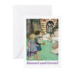 Hansel and Gretel Greeting Cards (Pk of 20)