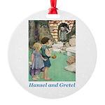 Hansel and Gretel Round Ornament