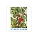 Jack And The Beanstalk Square Sticker 3