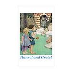 Hansel and Gretel Sticker (Rectangle 10 pk)