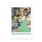 Hansel and Gretel 20x12 Wall Decal