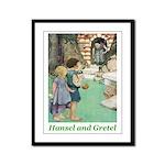 Hansel and Gretel Framed Panel Print
