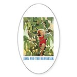 Jack And The Beanstalk Sticker (Oval)
