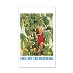 Jack And The Beanstalk 35x21 Wall Decal