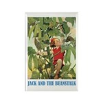 Jack And The Beanstalk Rectangle Magnet
