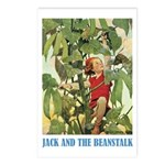 Jack And The Beanstalk Postcards (Package of 8)