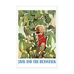 Jack And The Beanstalk Mini Poster Print